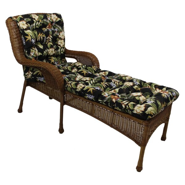 Freeport Indoor/Outdoor Chaise Lounge Cushion by Blazing Needles