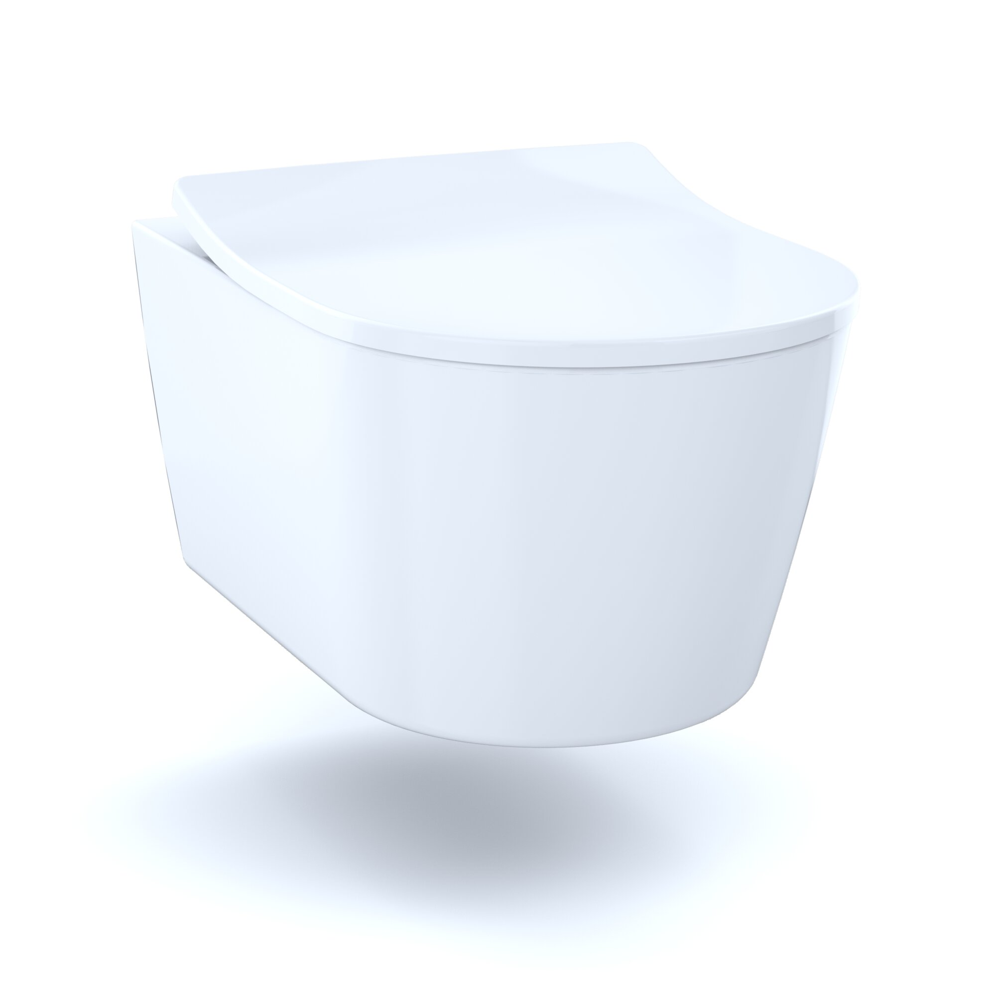 Excellent Toto Rp Dual Flush Elongated Wall Hung Toilet Seat Machost Co Dining Chair Design Ideas Machostcouk