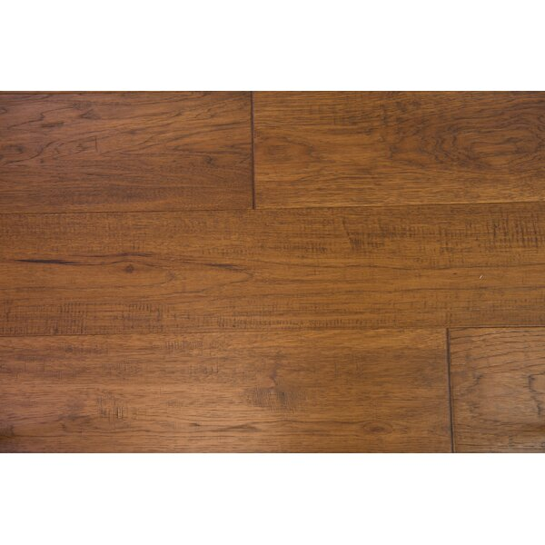 Copenhagen 7-1/2 Engineered Hickory Hardwood Flooring in Toffee by Branton Flooring Collection