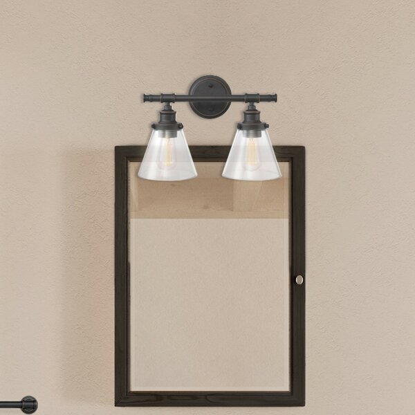 Kendrick 2 Light Vanity Light [Laurel Foundry Modern Farmhouse]