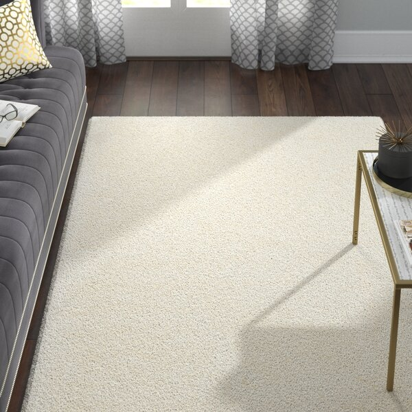 Chantrell Hand-Tufted/Hooked Ivory Area Rug by Willa Arlo Interiors