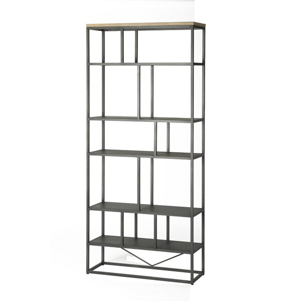 Langsa Etagere Bookcase by Union Rustic