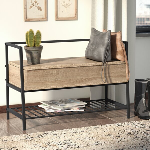 Ermont Wood Storage Bench by Laurel Foundry Modern Farmhouse