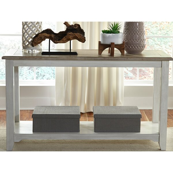 Dunstable Console Table by Canora Grey Canora Grey