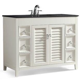 Best Reviews Adele 43 Single Bathroom Vanity Set BySimpli Home