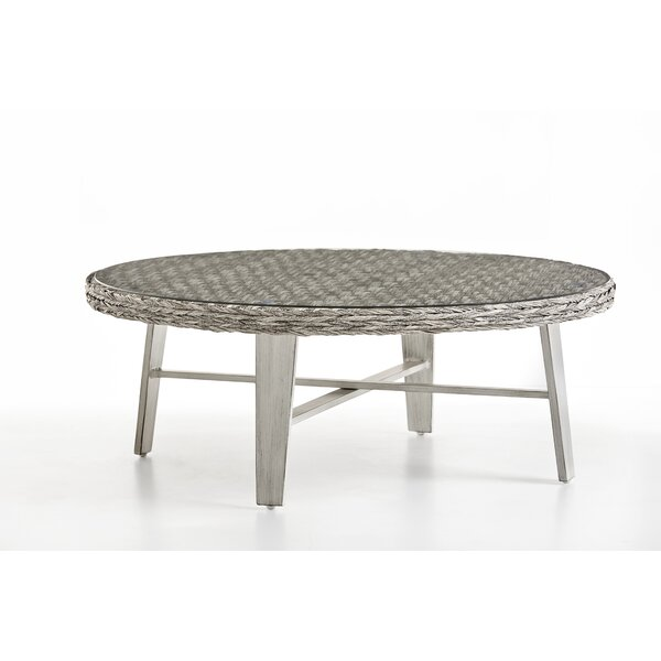 Craut Wicker Coffee Table by Highland Dunes