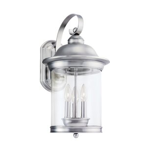 Price Check Brettany 3-Light Outdoor Sconce By Bloomsbury Market