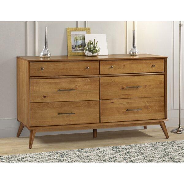Grady 6 Drawer Double Dresser by Corrigan Studio