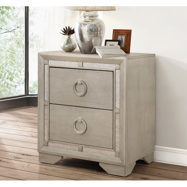 Greenwich 2 Drawer Nightstand by Willa Arlo Interiors