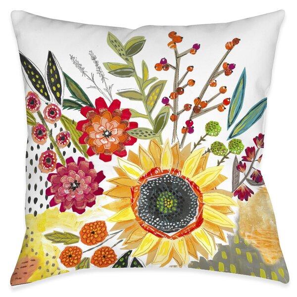 Lonoke Blooms Decorative Indoor/Outdoor Throw Pillow