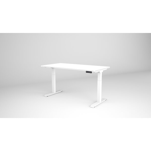 Non-Fluted Height Adjustable Standing Gaming Desk