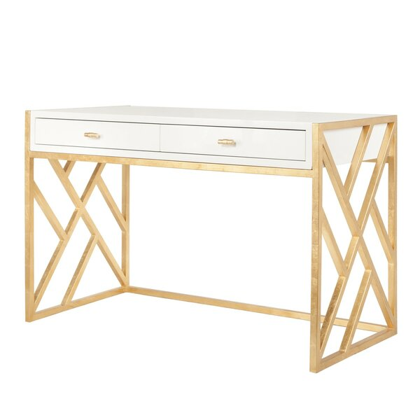 Cordelia Desk by Worlds Away