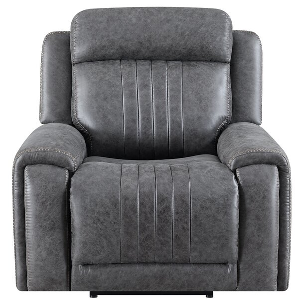 Ronna Mike Manual Glider Wall Hugger Recliner W002594865