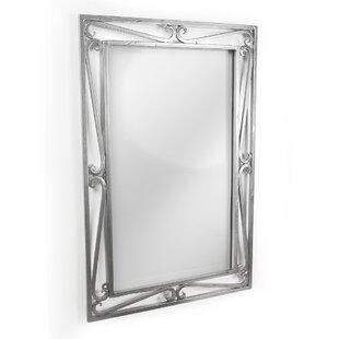 D'Vontz Iron Cantilevered Scroll Mirror