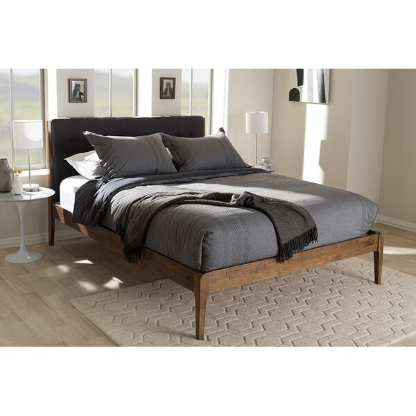 Bennet Upholstered Platform Bed by George Oliver