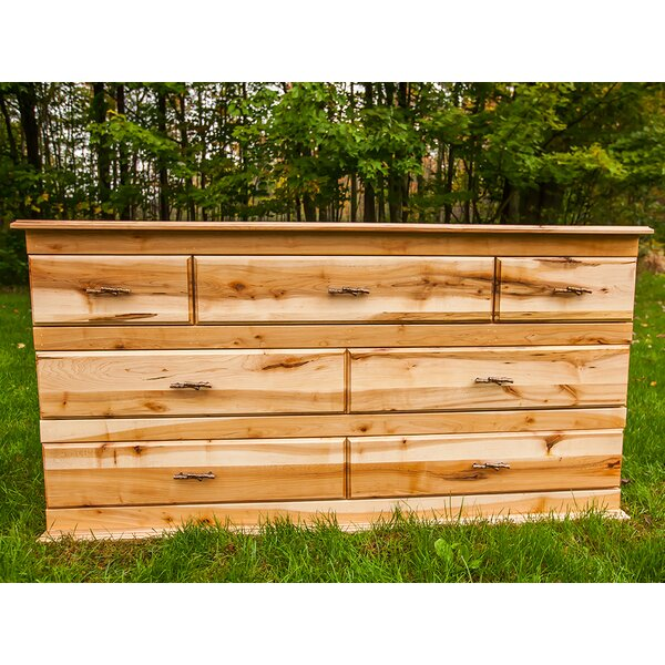 Nativ Living™ Mountain Maple 7 Drawer Dresser by Mountain Woods Furniture