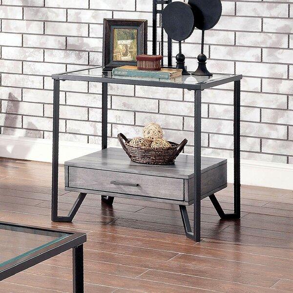 Etude End Table With Storage By Brayden Studio