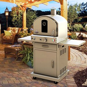 propane gas commercial outdoor pizza oven