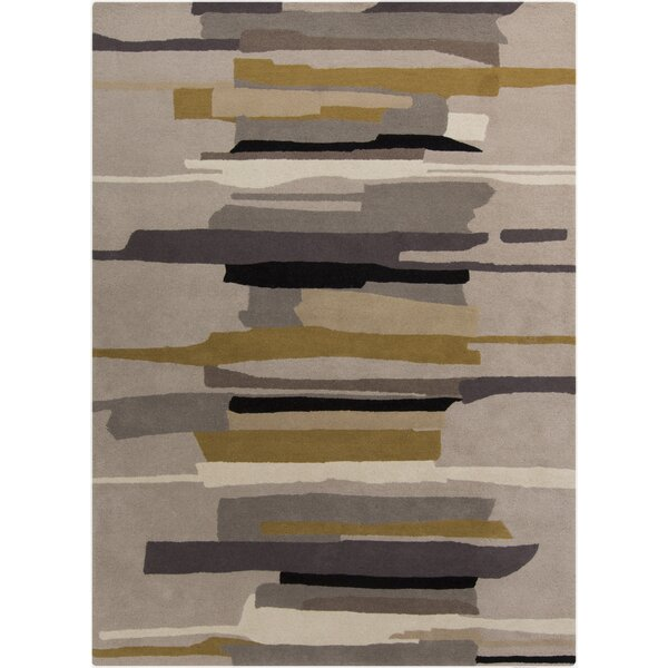 Lena Gray Rug by Corrigan Studio