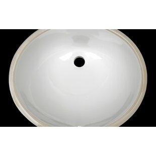 Purchase Oval Undermount Bathroom Sink By D'Vontz