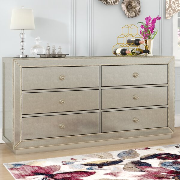 Rogerson 6 Drawer Double Dresser by Willa Arlo Interiors
