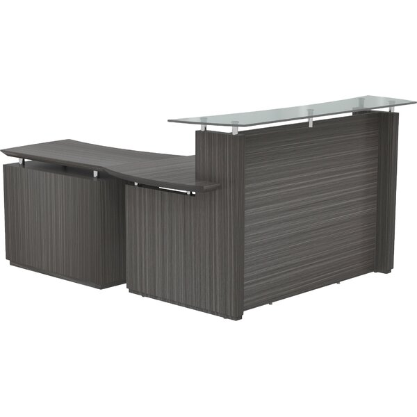 Sterling L-Shape Reception Desk by Mayline Group