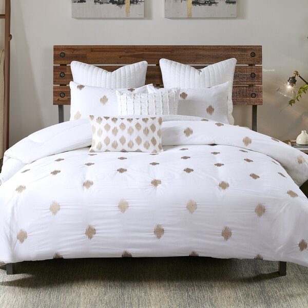 Bergin 3 Piece Cotton Comforter Set by Langley Street