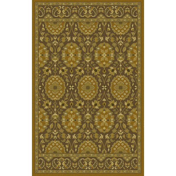 Monnickendam Tufted Olive Area Rug by Bungalow Rose
