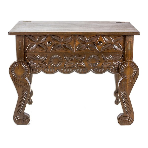 Check Price Eastway Esteemed Wood Console Table