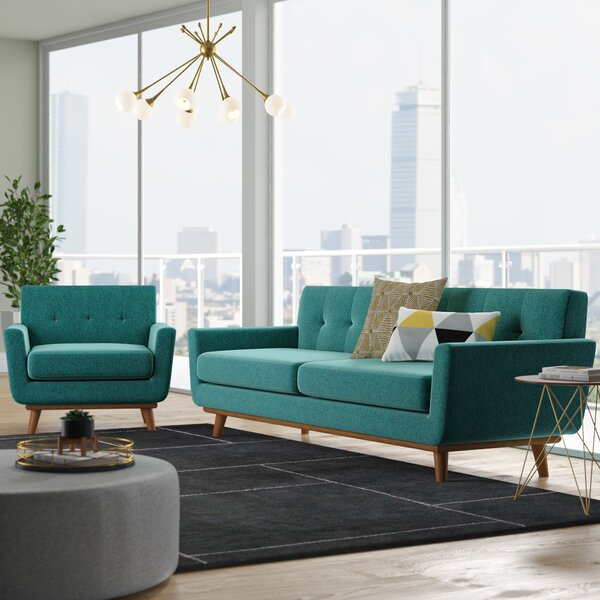Saginaw 2 Piece Living Room Set by Corrigan Studio Corrigan Studio