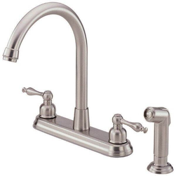 Sheridan Touchless Double Handle Kitchen Faucet with Side Spray by Danze®