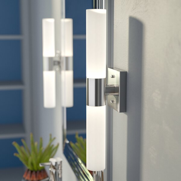 Kneeland 2-Light Bath Sconce by Zipcode Design