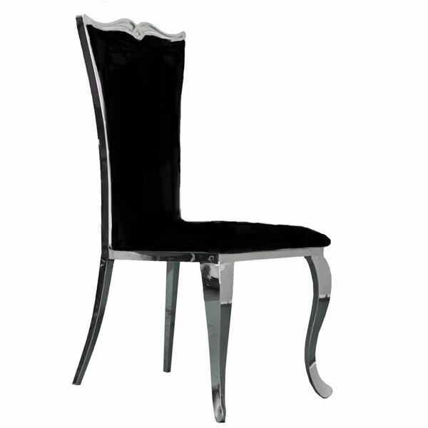 Morabito Upholstered Dining Chair (Set of 2) by House of Hampton