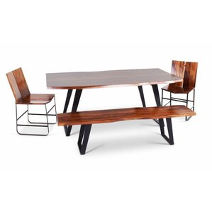 Reilly Wood Bench by Union Rustic