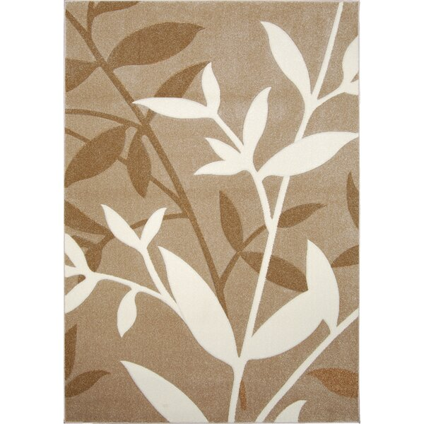 Sumatra Brown Stems Area Rug by Home Dynamix