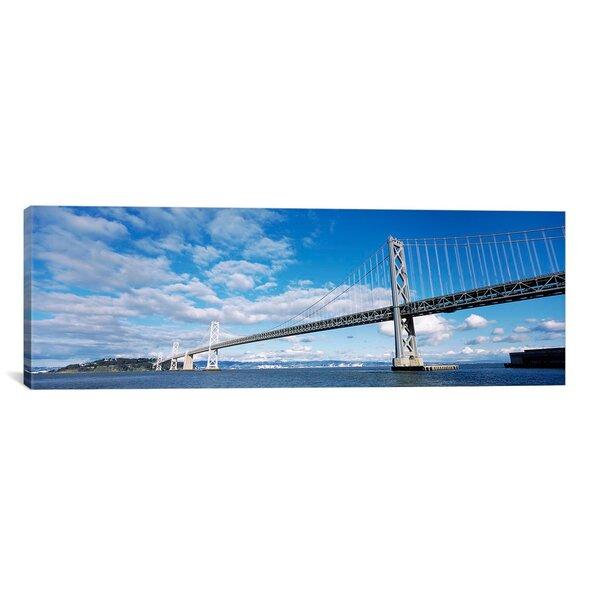 Panoramic Bay Bridge, San Francisco Bay, San Francisco, California Photographic Print on Canvas by iCanvas