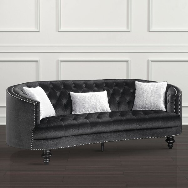 Online Shopping Discount Treshon Chesterfield Sofa by Everly Quinn by Everly Quinn