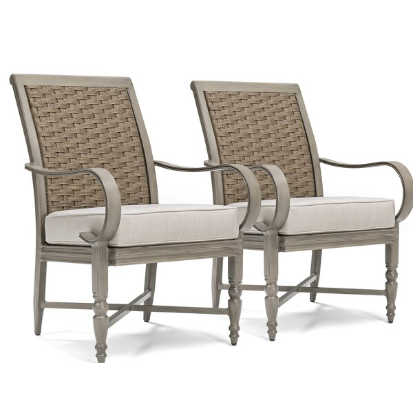 Saylor 5 Piece Patio Dining Set with Cushion by Blue Oak Outdoor