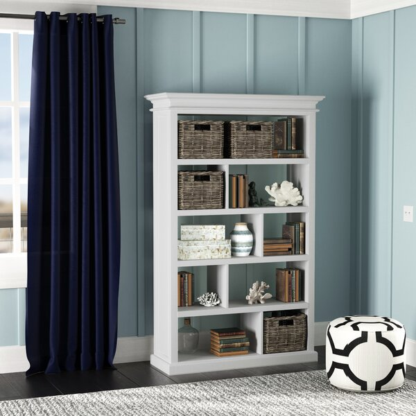 Clarewood Geometric Standard Bookcase By Beachcrest Home