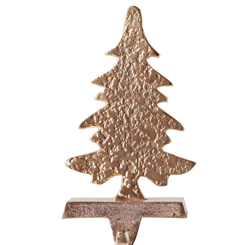 Metal Tree Shaped Stocking Holder