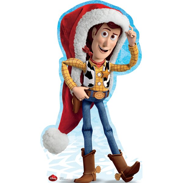 Woody Holiday - Disney Cardboard Standup by Advanced Graphics