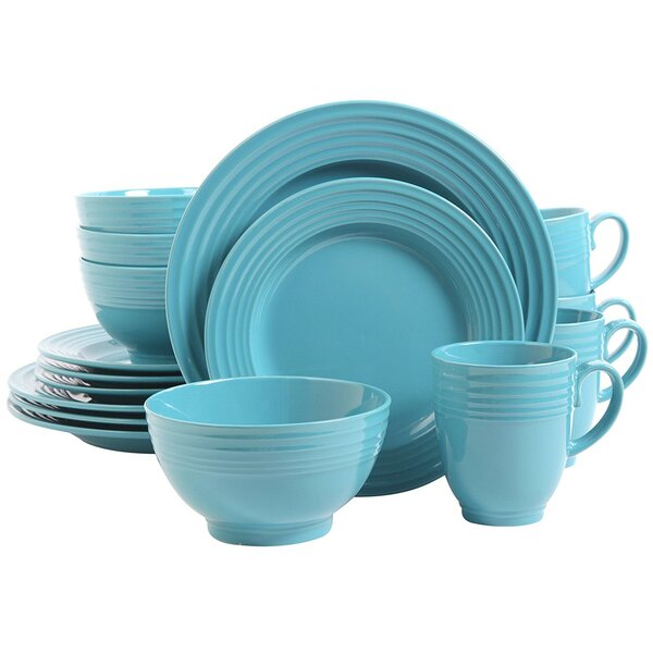 Fionn 16 Piece Dinnerware Set, Service for 4 by Highland Dunes