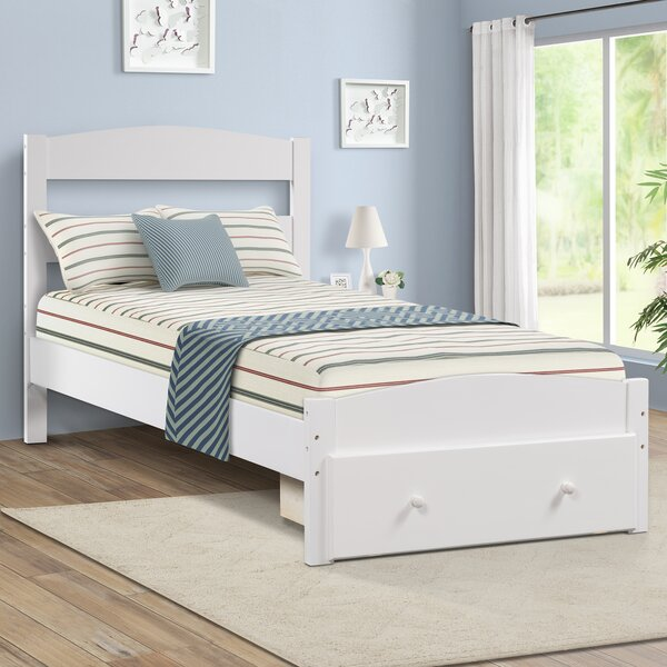 Idella Twin Platform Bed with Drawers by Harriet Bee