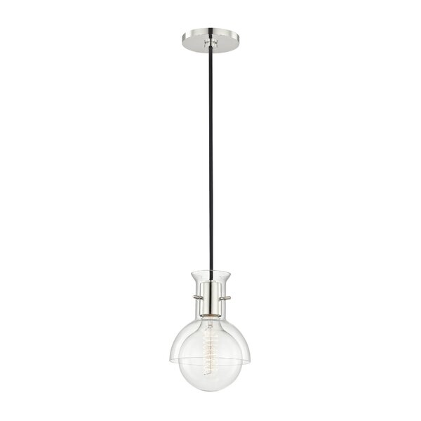 Altamirano 1-Light Inverted Pendant by Langley Street