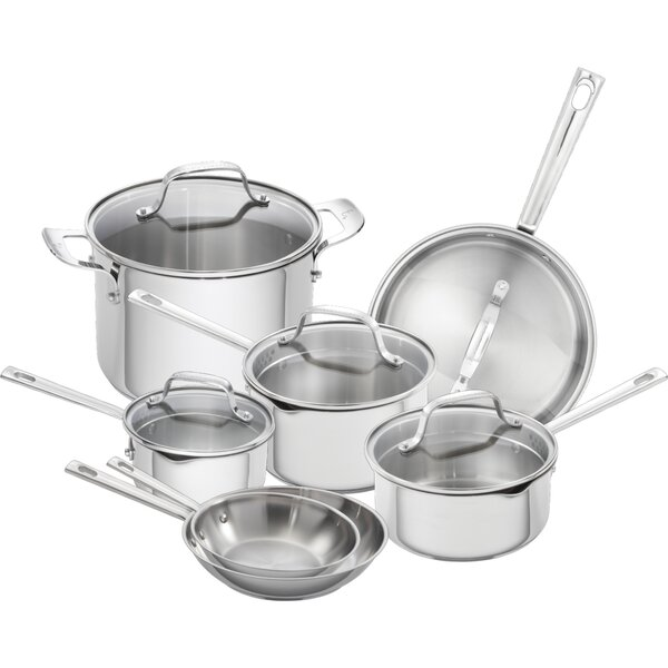 12 Piece Stainless Steel Cookware Set by Emeril Lagasse