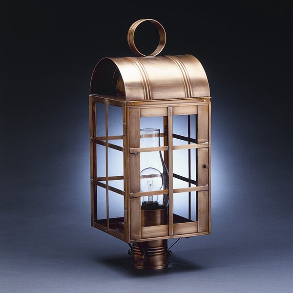Adams Outdoor 3-Light Lantern Head by Northeast Lantern