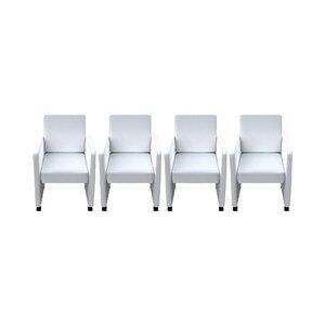 4-tlg. Esszimmerstuhl-Set von dCor design