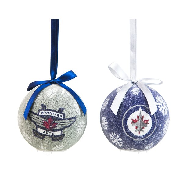 NHL LED Boxed Ornament Set by Team Sports America