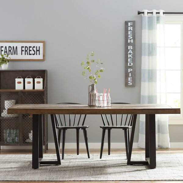 Stephen Dining Table by Modern Rustic Interiors