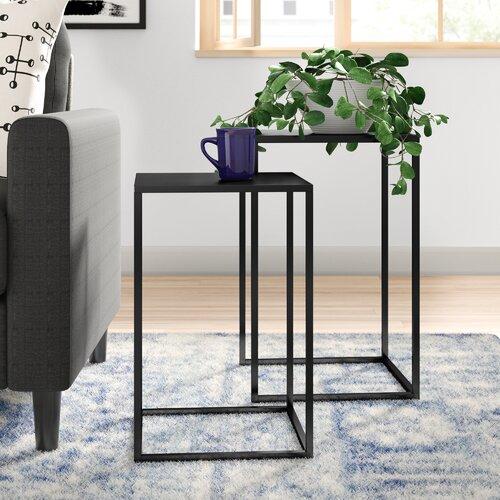 2 Satztische Evelyn Zipcode Design | Wohnzimmer > Tische > Satztische & Sets | Zipcode Design